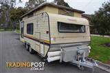 Roadstar dual wheel pop top - Located Bendigo