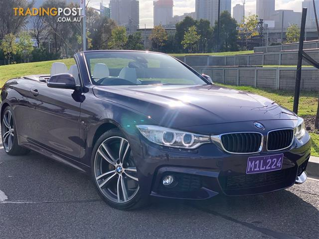 2016 Bmw 4 Series 428i M Sport F33 Convertible