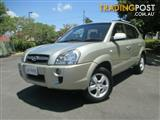 2007 Hyundai Tucson City SX MY07 Wagon