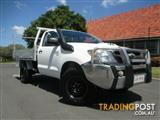 2008 Toyota Hilux SR (4x4) KUN26R 07 Upgrade Cab Chassis
