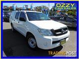 2010  TOYOTA HILUX SR (4X4) GGN25R 09 UPGRADE DUAL CAB P/UP