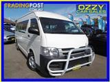 2010  TOYOTA HIACE COMMUTER KDH223R MY11 UPGRADE BUS