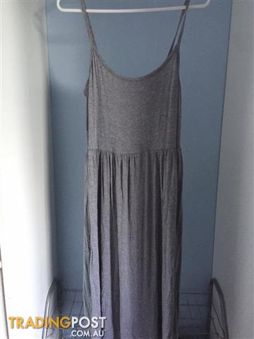 Miss Shop Grey Dress Size: 12