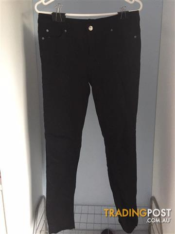 Emerson Black Denim Jeans Size: 10