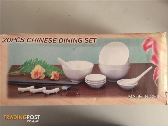 x2 Chinese Dining Set