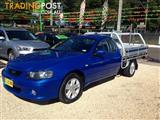 2005  Ford Falcon Xl BA MK 2 CAB CHASSIS