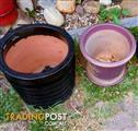 Glazed Tarracotta Pots