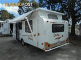 2006  CARAVAN JAYCO DESTINY  16.52-2 POP TOP