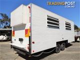 2000 White Traymark Crib Lunch Caravan Onsite Building Relocatable Transportable