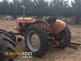 Tractor with machinery FOR SALE