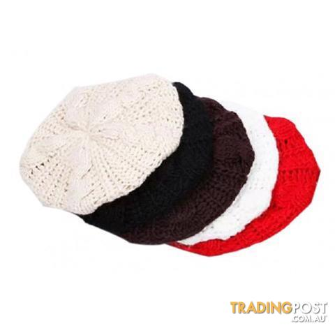 Chunky Knit Beret for sale in Armadale WA  9f1492979fb