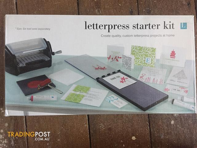 Epic Six Letterpress and Embossing System