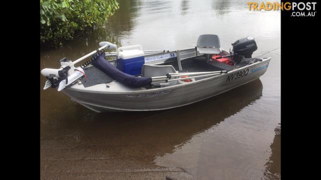 3.8 Stacer Seasprite Boat / Tinny