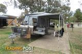 2015 Cub Brumby extreme off road camp trailer, hard floor