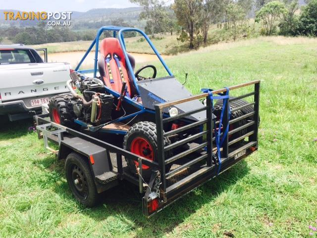 650cc off road buggy with trailer for sale in clear mountain qld 650cc off road buggy with trailer. Black Bedroom Furniture Sets. Home Design Ideas