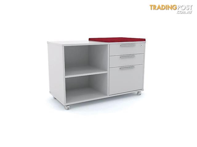 Credenza Per Hume : Olg caddy bookcase with 1 x drawer and seat topper for sale in