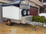 Custom 6'x8' sports equipment and camping trailer