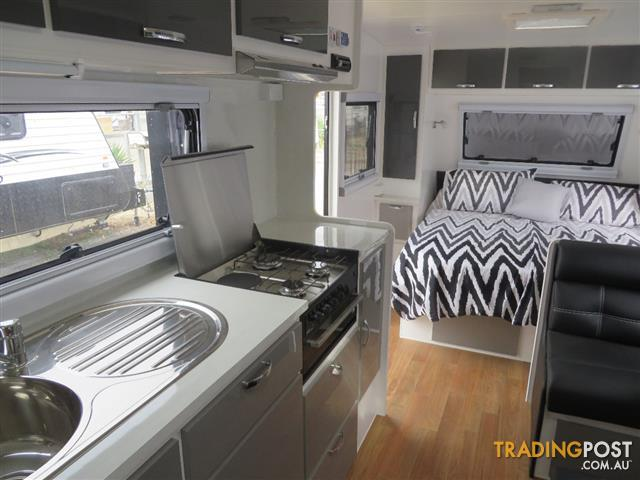 Awesome  Sale In Echuca VIC  New Quantum Indulgence Off Road Caravan Built In