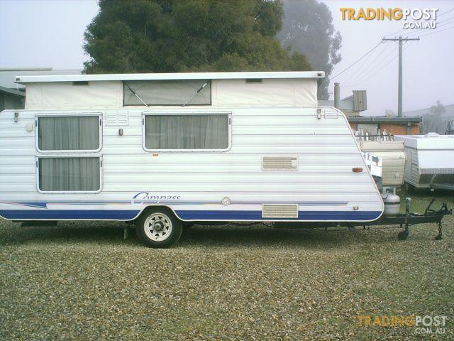 Innovative Windsor Streamline 2000 Poptop Caravan For Sale In Echuca VIC