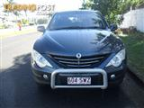 2007 SSANGYONG ACTYON A230 LIMITED C100 4D WAGON