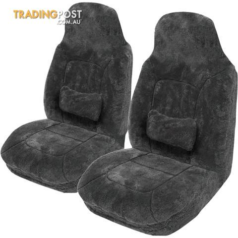 Platinum 'Cloud Air' Quality Sheepskin Bucket Seat Covers