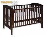 Boori Urbane Cot - English Oak + Cot Mattress