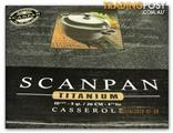 BRAND NEW IN ORIGINAL BOX, scan-pan titanium   series, CASSEROLE, 26 CMS, AND 4&1/2 LITRES,