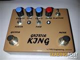 "Boutique ""Gristle King"" pedal..."