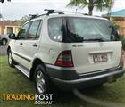 1999 MERCEDES-BENZ ML 320 (4x4) 4D WAGON