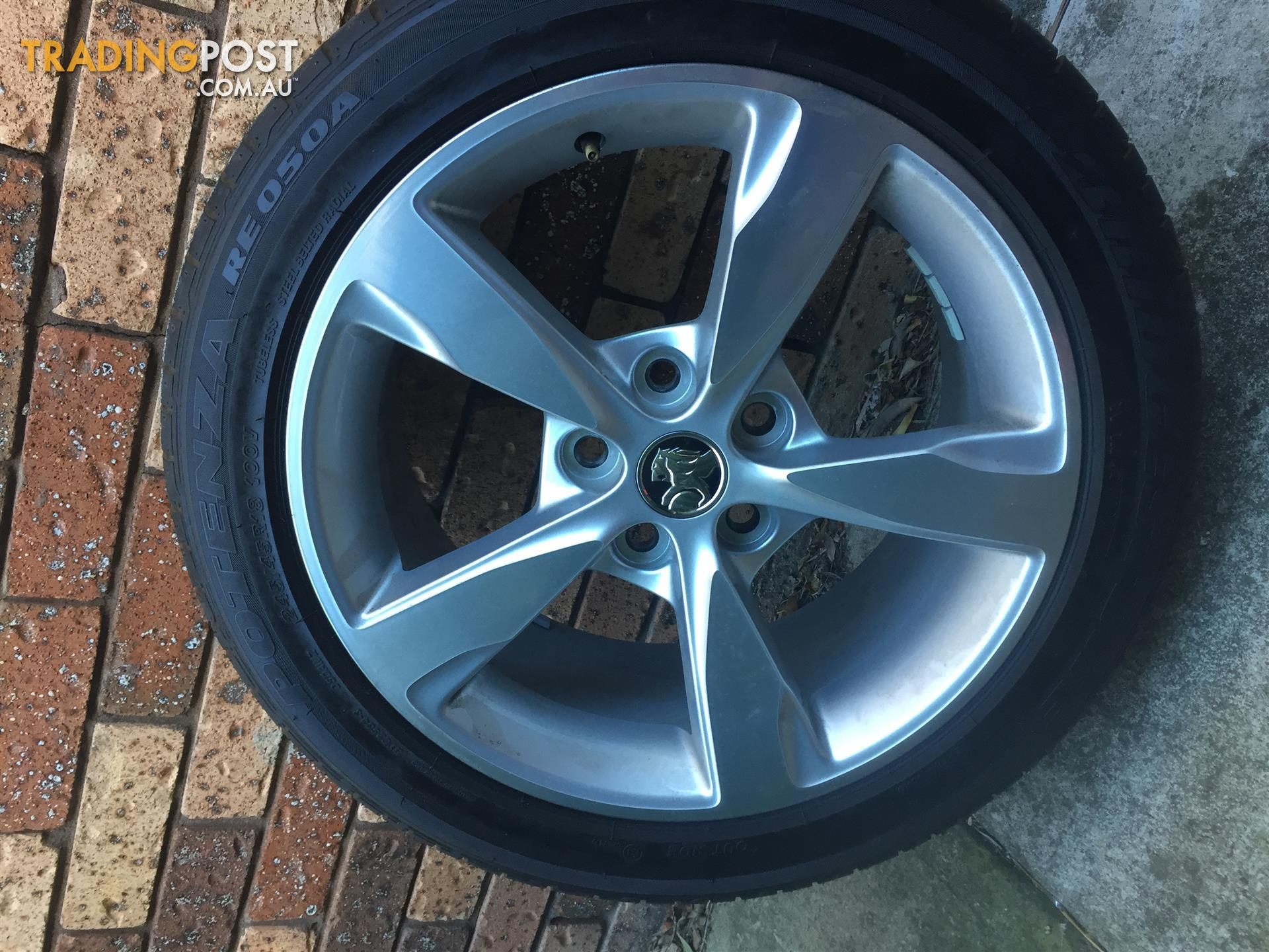 Brand New Holden Commodore Wheels and Tyres Genuine Rims SS SV6 ...
