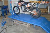 Motorcycle lift bench 680 kg Air/Hydraulic with extension ATV (C6006)