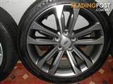 2015 Ford Falcon FGX 18inch XR6 alloys and as new tyres