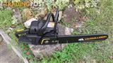 Mc Culloch CS 370 chainsaw  (as new )
