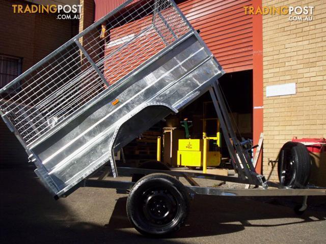 trailer city 7x4 tipper