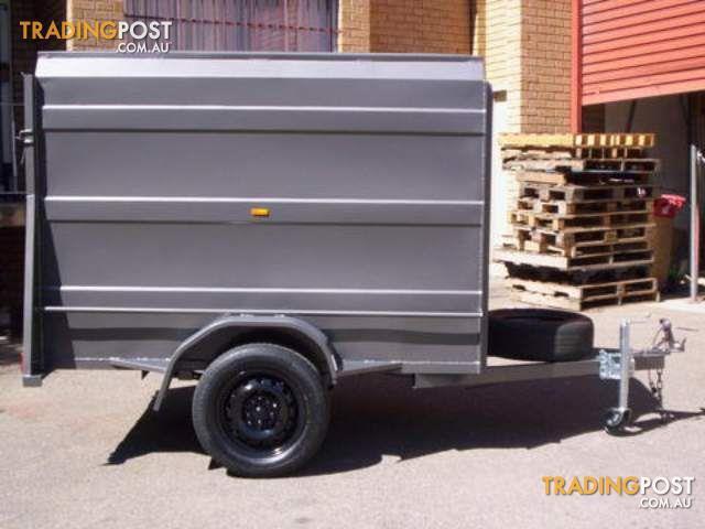 trailer city f/e box trailers