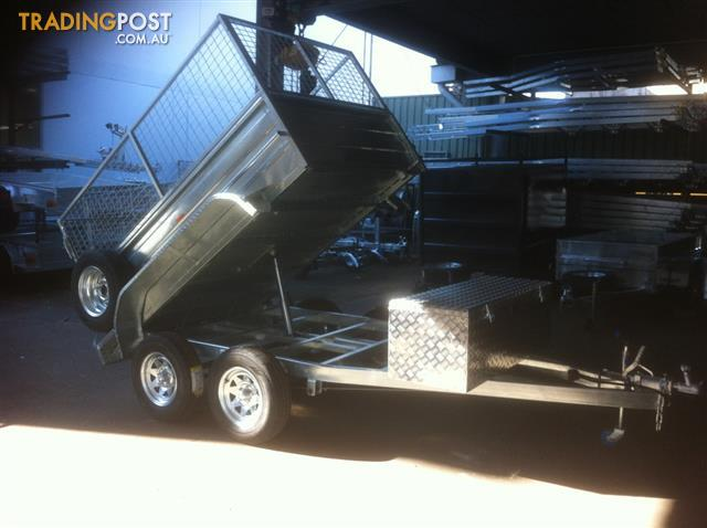 8x5  hydrolic tipping trailers 2021