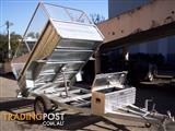 8x5  hydrolic tipping trailers