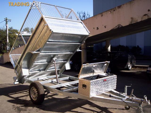 8x5  hydrolic tipping trailers 2020