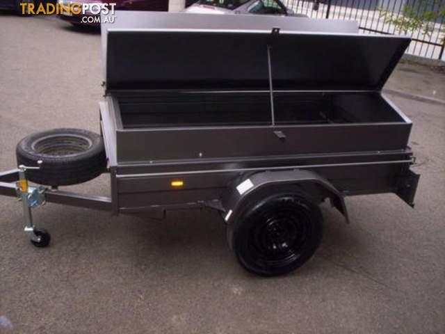 trailer city  7x5,8x5 box