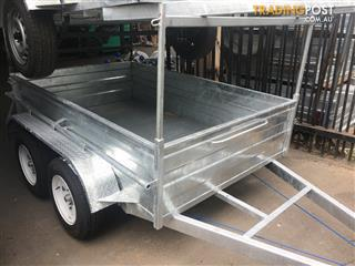 trailer city 8x5x21 tandem