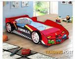 Boy or girl Race Car Bed With Led Lights New In Box