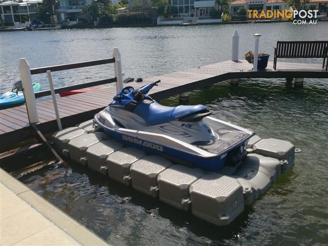 Jet Ski Dock | Modular Drive on Jet Ski Docking System for sale in Runaway Bay QLD | Jet Ski ...