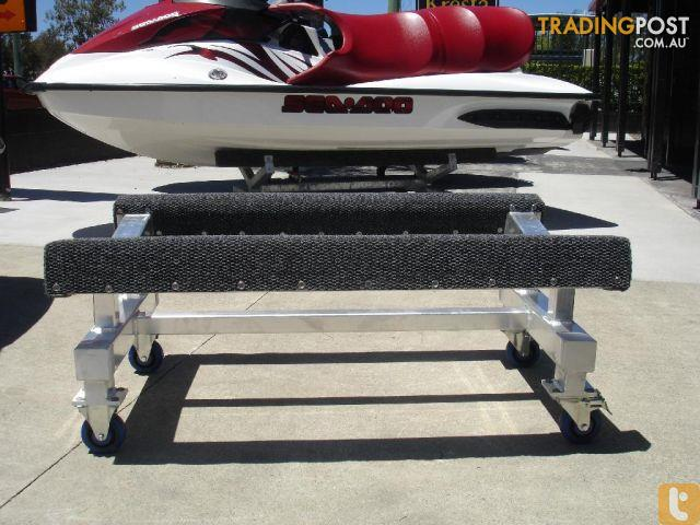 Jet Ski Workshop Trolley Aluminum