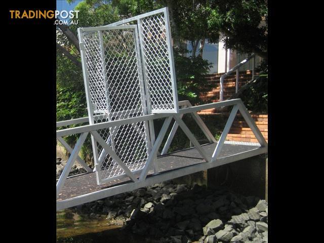 Pontoon Catwalk System Security Gate System For Sale In