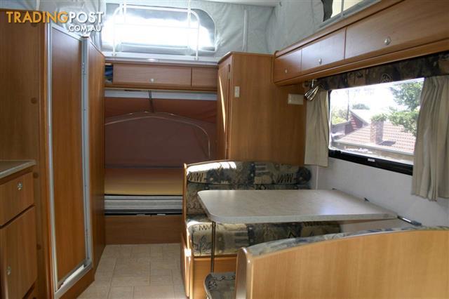 Original Caravan Rental Perth Jayco Expanda 4 Berth With Shower And Toilet