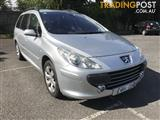 2006 PEUGEOT 307 XSE 2.0 TOURING MY06 4D WAGON