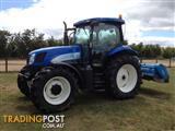 New Holland Diesel tractor