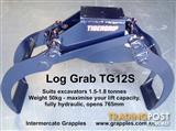 Log Grapples - for Excavators