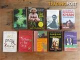 Collectable travel novels - great authors Ginsberg, Janowitz, Gilbert etc.