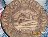 """Carved wooden plate """"lucerne"""""""
